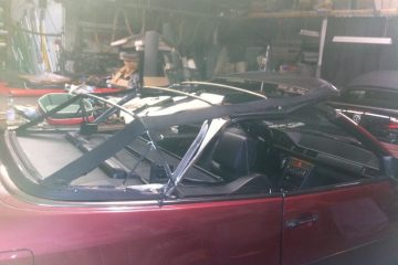 Auffrischung W124 E 320 Cabrio